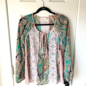 EUC Anthropologie - Meadow Rue Blouse